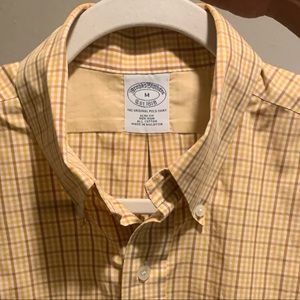 Brooks Brothers Slim Fit Non Iron Shirt M